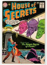 Dc - House Of Secrets #62 - 2nd Eclipso Appearance - G 1963 Vintage Comic