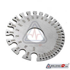 Round Wire Guage Diameter Sheet Size Gage Stainless Steel Inch Inspection S.W.G.