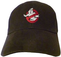 Ghostbusters NO Ghost Logo Embroidered Baseball Hat - Cap NEW OSFA or  FlexFit a41d73321592