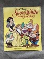 Panini Snow White Disney 1994 Complete Sticker Book
