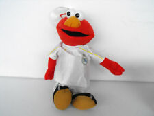 RARE Sesame Street  ELMO dressed in REAL MADRID soccer clothing with suction cup