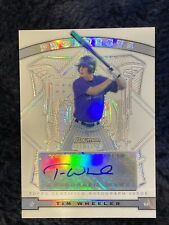 2009 Bowman Sterling Prospects Tim Wheeler Autograph #/199