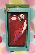 NEW KATE SPADE PARROT SILICONE CASE for iPhone 7 Multicolor  New in Box $40