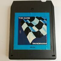 The Cars Panorama  8 Track Tape 1980 See Photos and Description (Un-Tested)