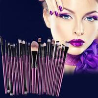 20PC Makeup Brushes Set Foundation Face Powder Eyeshadow Eyeliner Lip Brush Tool
