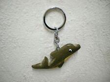 """Schlüsselanhänger """"Delfin"""" (Holz) / Keychain """"Dolphin"""" (Wood)"""