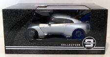 Triple 9 1/18 Scale Diecast T9-1800199 - 2017 Nissan GT-R - Silver
