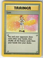 Lass - Base Set - 75/102 - Rare - Collectible - Pokemon Card - NM Near Mint