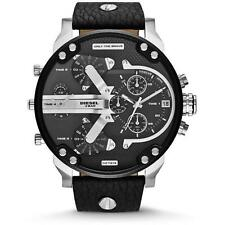 DIESEL DZ7313 Mens Machinus Gunmetal 4 Timezone Dial Watch