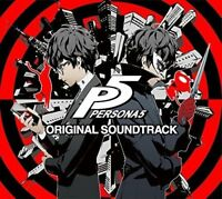 PERSONA 5 ORIGINAL SOUNDTRACK 3CD Game MUsic from Japan*