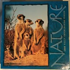 "Hasbro - Nature - ""Meerkats"" - 1000 Piece Jigsaw Puzzle - Brand New - Sealed"