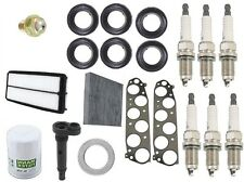Acura TL 04-06 3.2L Tune Up Kit PCV Valve Oil Filter & Cabin & Plugs Premium