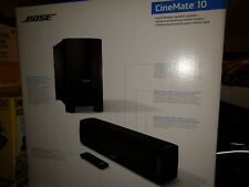 BOSE CINEMATE 10 HOME THEATER SPEAKER SYSTEM 110 VOLTS- PERFECT - Brand New