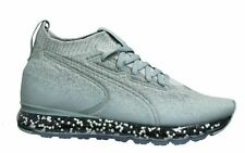 Puma Jamming evoKNIT Grey Lace Up Sock Style Mens Running Trainers 190629 05