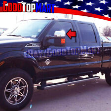For Ford SUPER DUTY F250 F350 F350 2008-12 13 14 15 2016 Chrome Top Mirror Cover