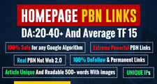 Do Manual High Da Dofollow Pbn Backlinks- Standard Package