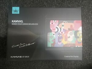 Huion Kamvas GT-191 V2 HD Graphics Drawing Tablet / LCD Monitor - New & Sealed