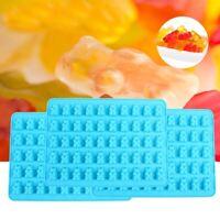 New Ice Candy Gummy Mold Bear Chocolate Make 50 Cavity Silicone Novelty Tray HOT