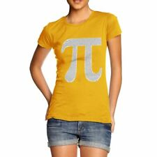 Funny T Shirts For Women Pi Numbers in the Shape of Pi Women's T-Shirt