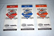 VINTAGE 1990 All Time Baltimore Orioles ACTION STAND UPS With Folder - Mint