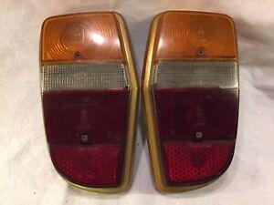 Volvo 140 164 Rear Lights Left+Right Complete Hella 43241 Top