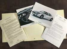 ASTON MARTIN DB7 I6 Alfred DUNHILL special Edition PRESS RELEASE in folder 1998