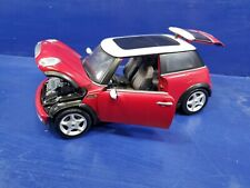 Mini Cooper Red 1/18 Diecast Model Car by Maisto