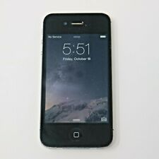 Apple iPhone 4s A1387 16GB Black (Sprint) Smartphone Cellphone Tested Working