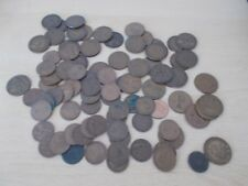 A lot of Pennies & Half Pennies 1906 - 1967 (800g) + 2 Foreign Coins