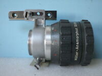 MÖLLER, objectif Anamorphot 32/2x projecteurs cinéma BAUER + support P6 P7 P8.