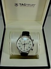 Men's TAG Heuer CARRERA Swiss Automatic Chronograph Watch CAL 1887 CAR211-0