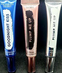 💥 3 X VICTORIA SECRET EXTREME LIP PLUMPER & LIP MASK LIP GLOSS NWT MSRP $36 😷
