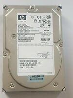 "72.8 GB HP BD0728B277/ST373207LC Wide Ultra320 SCSI 80-pin 10K 3.5"" Festplatte"