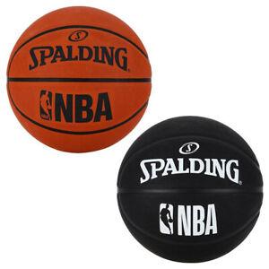 Spalding NBA Basketball Outdoor Street Court Rubber Ball Orange Black Size 5 7