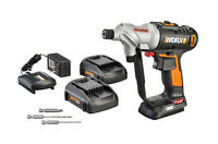 WORX WX176L.5 Switchdriver 20V PowerShare Cordless Drill & Driver (2) Batteries