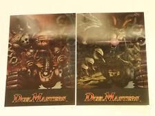 DUELMASTERS TCG: Lenticular Oversized (5x7) PROMO CARD x 2