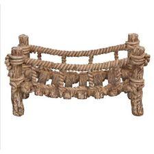 Vivid Miniature World MW02-005 Resin Wooden Rope Bridge by Vivid Arts