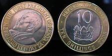 KENYA 10 Shillings 2005 Bimetallic UNC