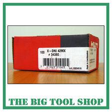 Hilti 42mm véritable clous pour hilti Dx460 x-dni 42 mx 34380 magazine