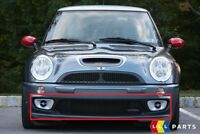 NEW GENUINE MINI COOPER R53 JCW GP FRONT BUMPER CENTER GRILLE GRID 7182623