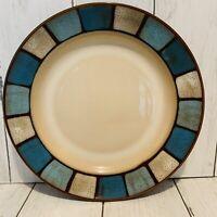 Pfaltzgraff SANIBEL Salad Plate Mosaic Rim Blues Everyday Dinnerware