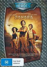 Sahara - Action / Mystery / Thriller / Violence - Matthew McConaughey - NEW DVD