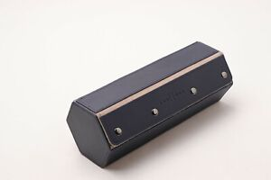 KAUFFMAN Hexagon Leather 3 Watch Travel Roll Case -Discounted RRP £165