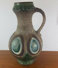 XXL 70er Dümler & Breiden Keramik Vase Henkelvase Form 1006/50  50cm Höhe
