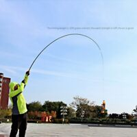Fishing Carbon Fiber Rod Pole Spinning Telescopic Travel Sea Portable Ultralight