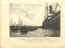 Valeriano Weyler CUBA Cuban War of Independence ANTIQUE PRINT GRAVURE 1896