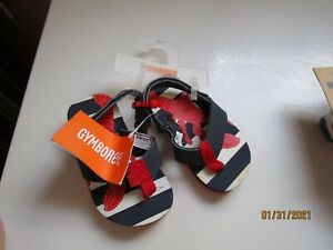 New Gymboree Lobster Sandals Shoes Baby Size 5 6 Adorable Summer