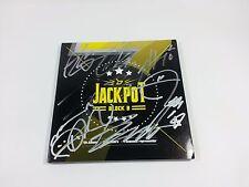 BLOCK B K-POP Promo Album JACKPOT Signed CD Booklet autographed Idol group Rare