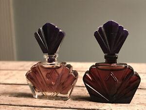 Lot Of 2 Passion By Elizabeth Taylor Parfum Splash MINI .12oz Perfume