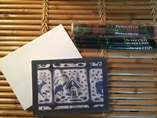 Pendleton Woolen Mills Holiday Note/Gift Cards w/Pendleton Woolen Mills Pencils